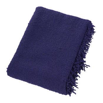 Boucle Throw - 140x200cm - Electric Blue