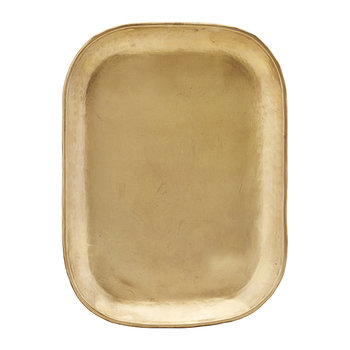 Rich Brass Tray - Large