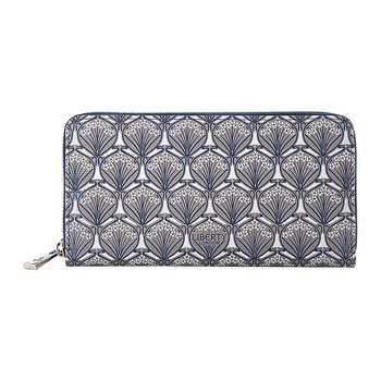 Iphis Large Zip Wallet - Grey