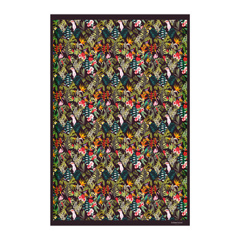 Collection Jungle Vinyl Floor Mat - HIB18285