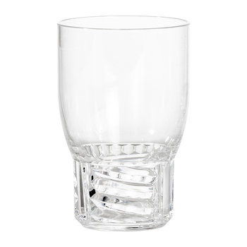 Trama Water Glass - Crystal