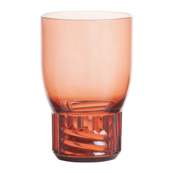 Trama Water Glass - Pink
