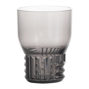 Trama Wine Glass - Smoke Grey