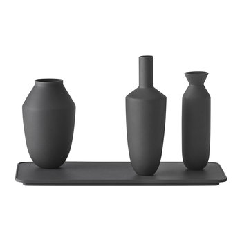Balance Vases - Set of 3 - Black
