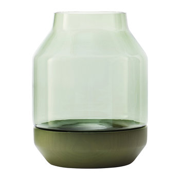 Elevated Vase - Green