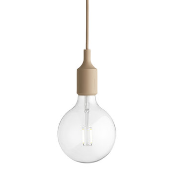 Muuto - Lampe Suspension E27 - Couleur Chair