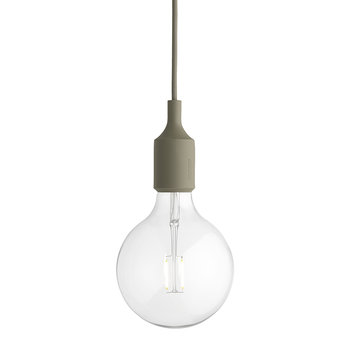 Lampe Suspension E27 - Olive