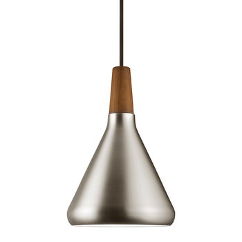 Float 18 E27 Pendant - Brushed Steel