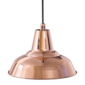 Lyne E27 Metal Pendant Light - Copper