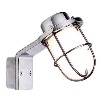 Marina Wall Lamp - Chrome