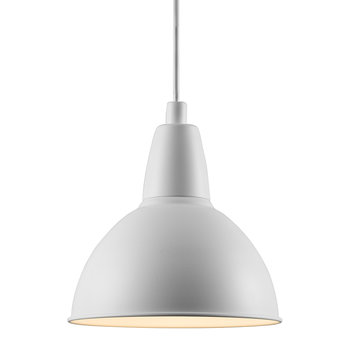 Trude E27 Pendant Light - White