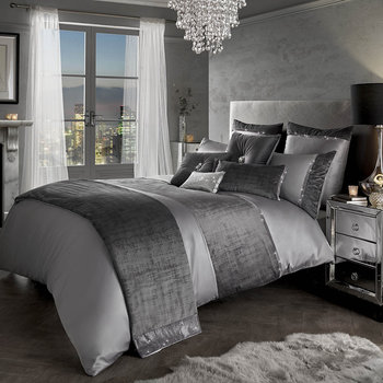 Saturn Duvet Cover - Grey