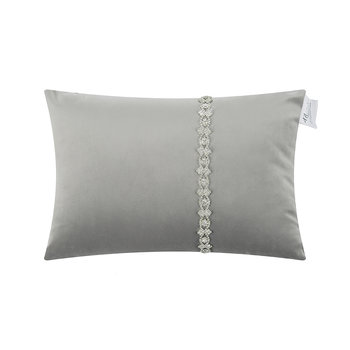 Lanie Bed Cushion - Silver - 25x40cm