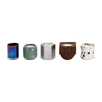 Materialism Scented Candle Giftset - Set of 5