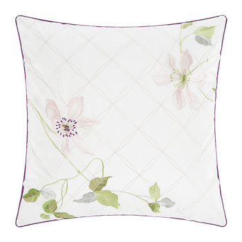 Clematis Cushion Cover - 45x45cm