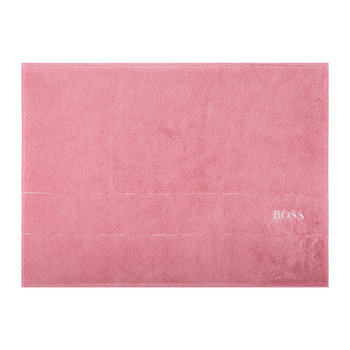 Plain Bath Mat - Tea Rose