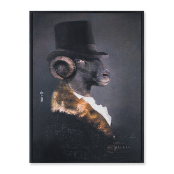 Framed Aluminum Print - Mille De Maupin - Limited Edition