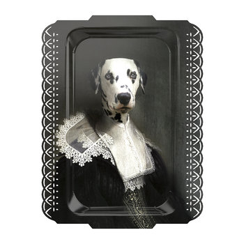 Galerie De Portraits - Rectangular Dalmation Tray - Sapho
