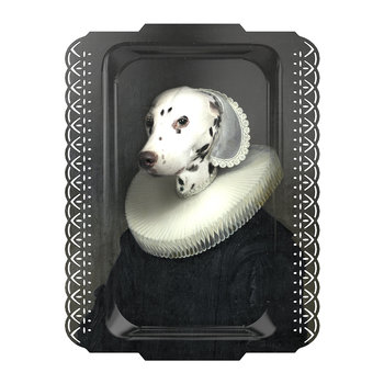 Galerie De Portraits - Rectangular Dalmation Tray - Arthenice