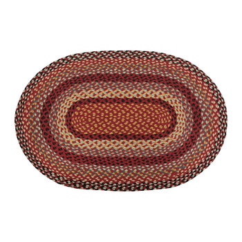 Oval Rug - 61x91cm - Chilli