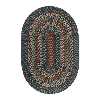 Oval Rug - 61x91cm - Carnival Blue