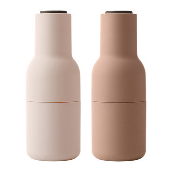 Bottle Salt & Pepper Grinder - Set of 2 - Nudes