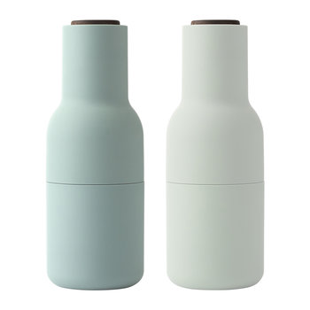 Bottle Salt & Pepper Grinder - Set of 2 - Moss Greens