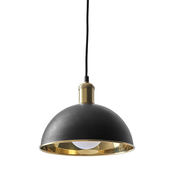 Tribeca Series Hubert Pendant Light - Bronzed Brass