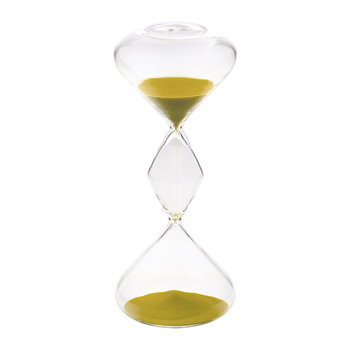 Hourglass Sand Timer - 30 Minutes - Gold