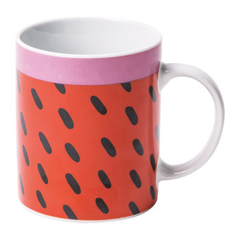 Rio Mug - Black Dashes