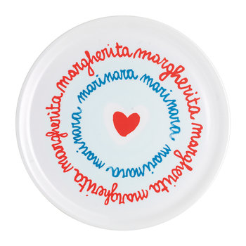 SMS Pizza Plate - Margherita