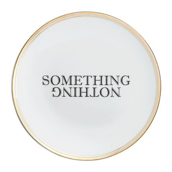 Funky Table Plate - Something Nothing