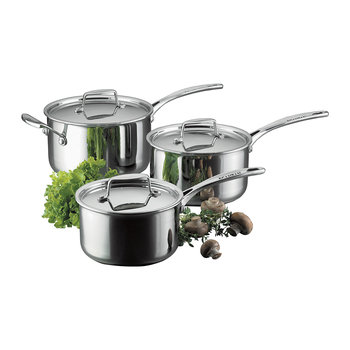 Fusion 5 3 Piece Saucepan Set