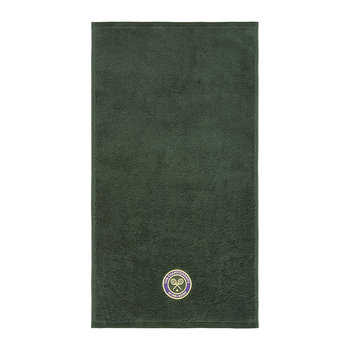 Embroidered Guest Towel 2018 - Green