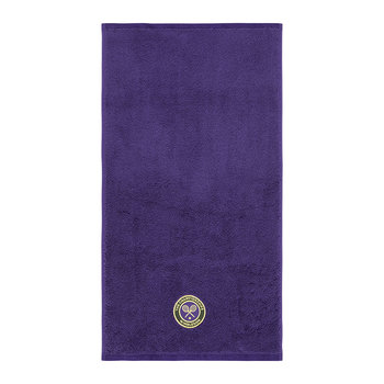 Embroidered Guest Towel 2018 - Purple