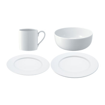 Dine Rimmed 4 Piece Set