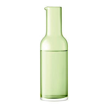 Hint Blown Glass Carafe - 1.2L - Pale Lime