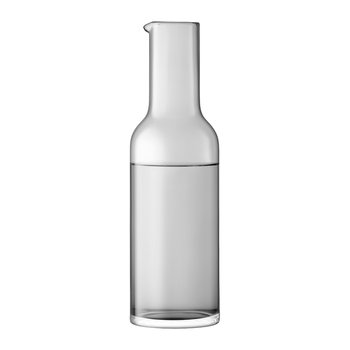 Hint Blown Glass Carafe - 1.2L - Pale Slate