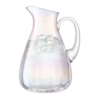 Pearl Blown Glass Jug - 2.2L