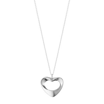 Koppel Heart Pendant Necklace - Sterling Silver