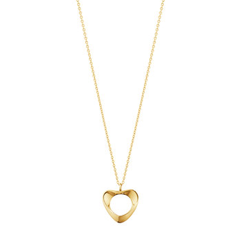Koppel Heart Pendant Necklace - Yellow Gold