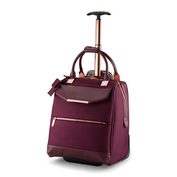 Albany Softside 2 Wheel Business Bag - Burgundy