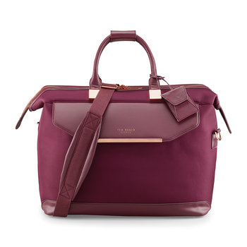 Albany Softside Clipper Holdall - Small - Burgundy
