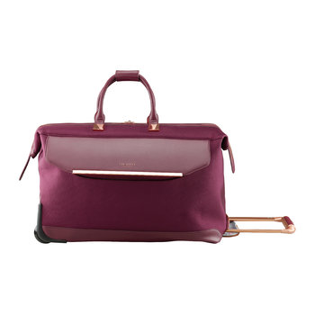 Albany Softside 2 Wheel Trolley Duffle - Large - Burgundy