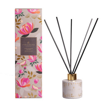 Printed Glass Reed Diffuser - 100ml - Jasmine, Lemongrass & Ginger