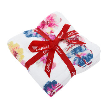 Guernsey Flowers Face Cloth - Set of 3