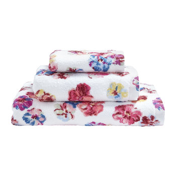 Guernsey Flowers Towel