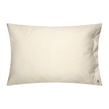 Oxford Pillowcase - Sand - 50x75cm
