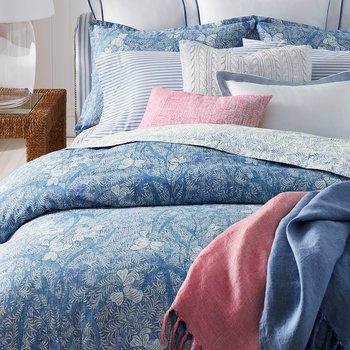 Meadow Lane Duvet Cover - Blue