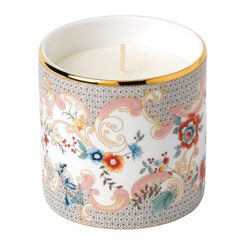 Wonderlust Scented Candle - Rococo Flowers - Orange & Geranium